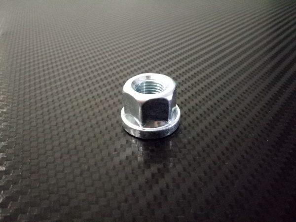 ecrou de roue plat acier 12x125