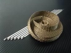 bande thermique collecteur titanium 25mm