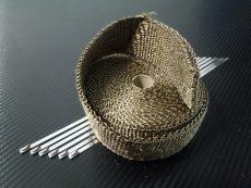 bande thermique collecteur titanium 50mm