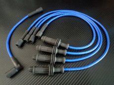 Faisceau d'allumage renforcé silicone bleu 205 rallye ax sport 1.3l moteur TU24
